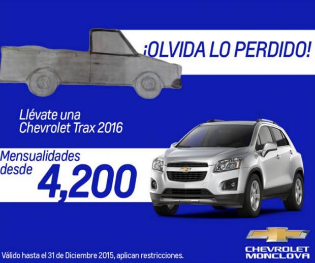 Publicidad de Chevrolet