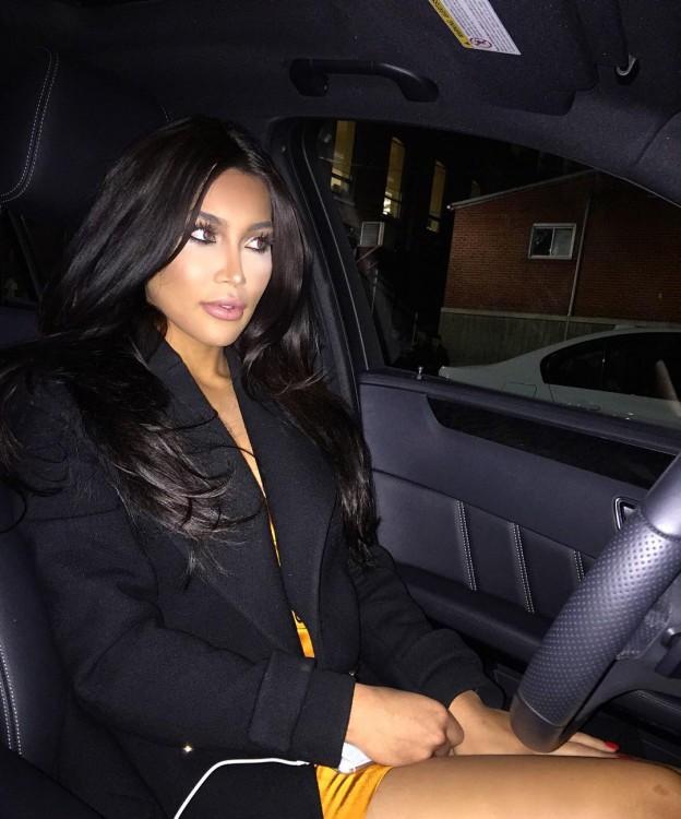 Kamilla Osman, la doble de Kim Kardashian