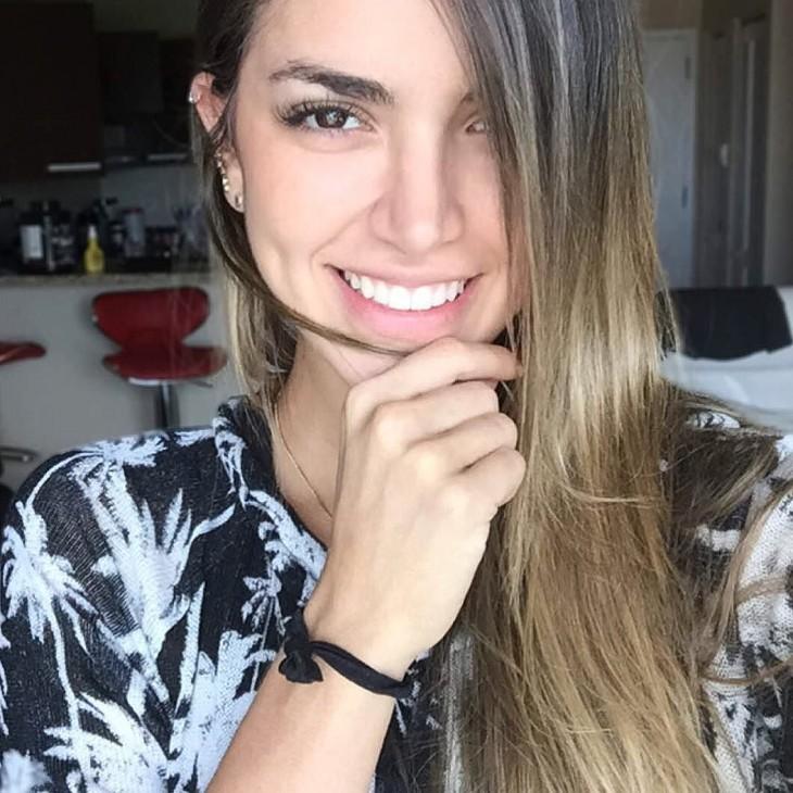 Modelo colombiana se parece a Eiza