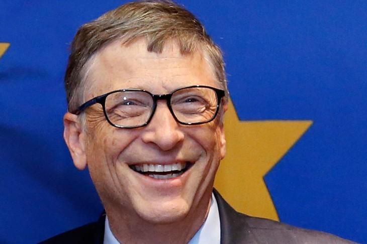 Bill Gates con estrella detrás