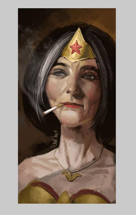 La Mujer Maravilla en el retiro