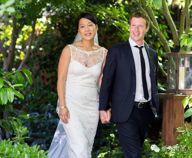 boda de hija de Mark Zuckerberg y Priscilla Chan