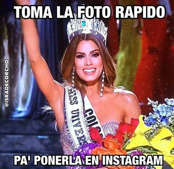 Memes por la equivocación en Miss Universo