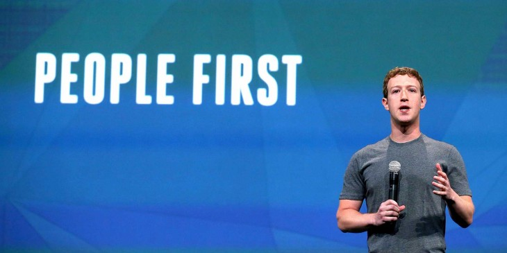 Zuckerberg dice people first