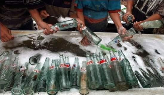 Fábrica clandestina de Pepsi