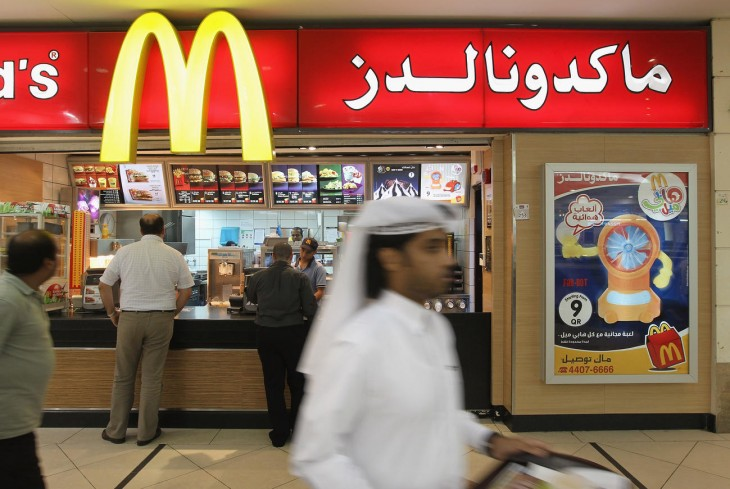 comida rápida en qatar