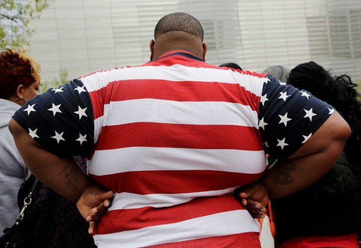 obesidad en Estados Unidos