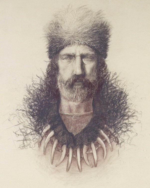 Hugh Glass, cazador en 1823