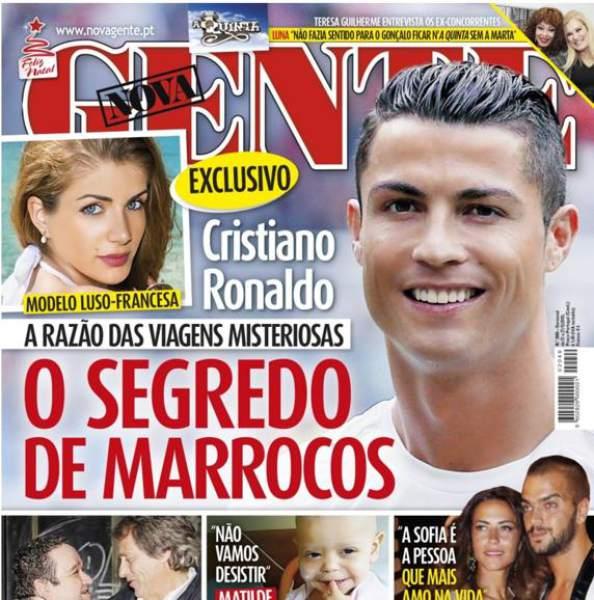 Portada de revista con Cristiano Ronaldo