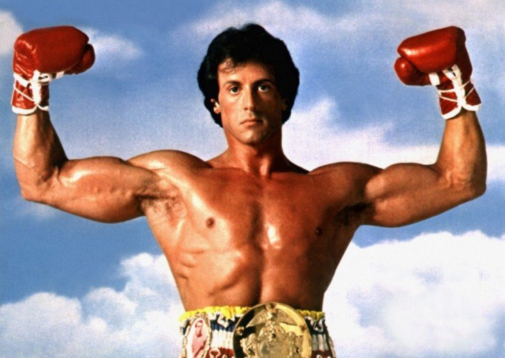 Rocky Balboa campeón del mundo