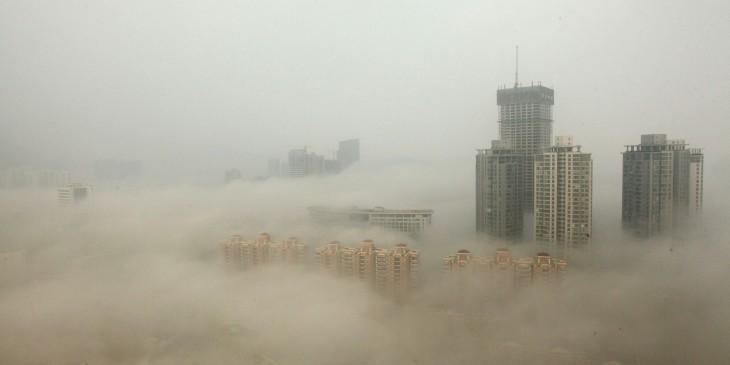 Pekín tomado por el smog