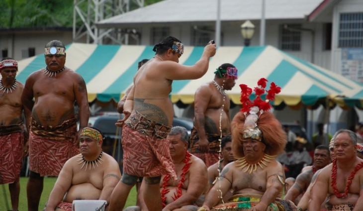 personas obesas de samoa