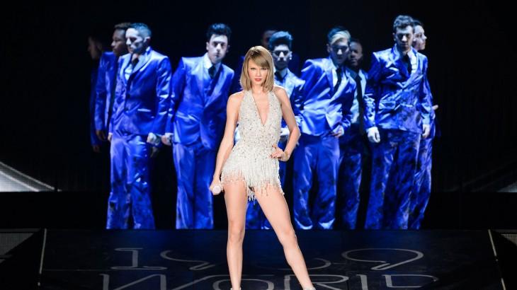 Taylor Swift en su gira 1989
