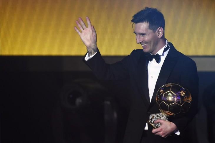 Messi acaba de ganar su quinto Balón de Oro