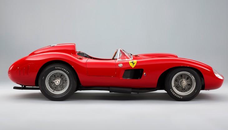Ferrari 335 S Spider Scaglietti perfil