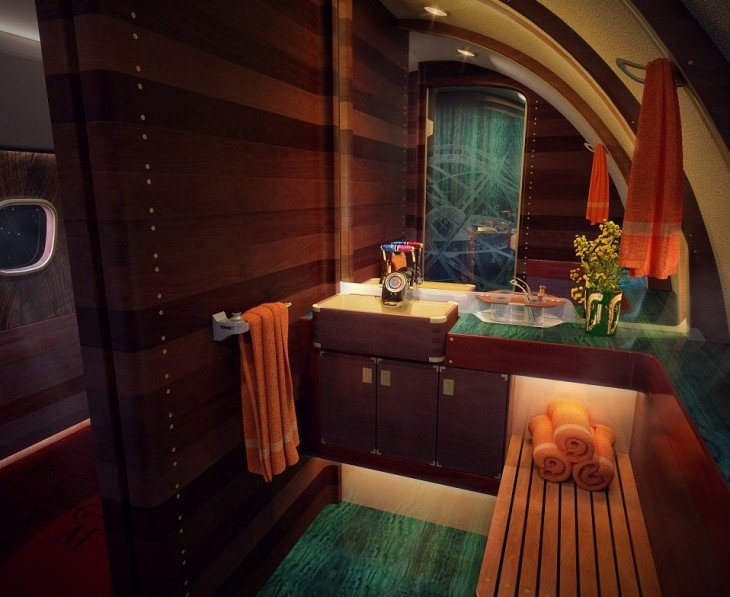 Baño Skyacht One