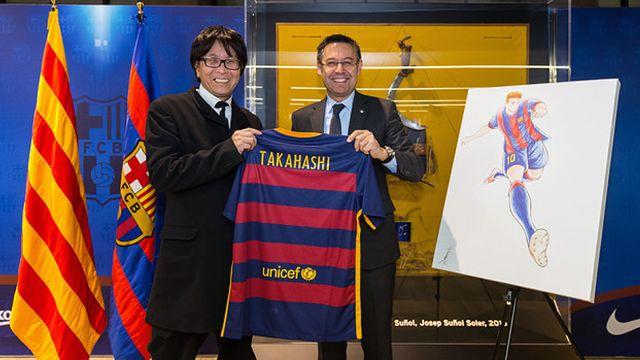 Yoichi Takahashi Barcelona