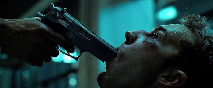 Pistola película Club de la Pelea