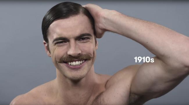 El bigote en los años 10'