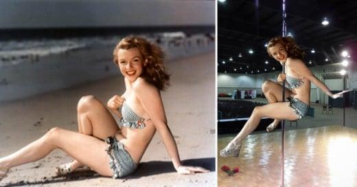 Así Trolleó Internet las primeras imágenes de Marilyn Monroe como modelo