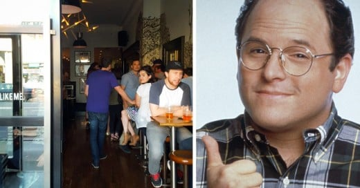 Abren un Bar en honor de George Costanza, del programa de Seinfield