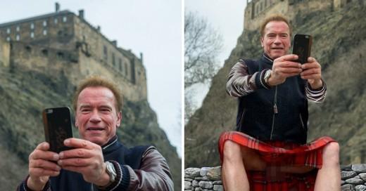 Cover-Arnold-en-Escocia,-en-una-batalla-de-Photoshop