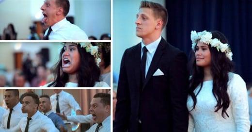 La emotiva danza Maorí en una boda que está conmocionando al mundo