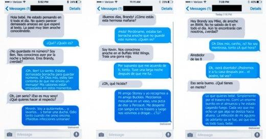 Dio su número a varios chicos y no pararon de mensajearla; ella los bateó