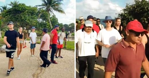 Expulsan a Justin Bieber de las ruinas mayas de Tulum en México ¡Por Irrespetuso!