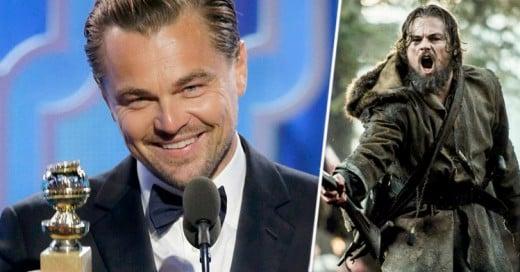Leonardo DiCaprio gana el Globo de Oro a Mejor Actor por la película 'The Revenant'