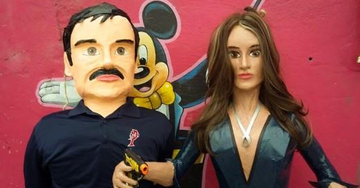 Ya puedes coger a palos a Kate del Castillo... ¡Ya tiene su piñata!