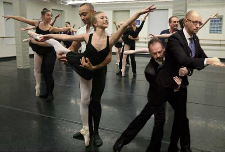 photoshop parlamento ucraniano ballet