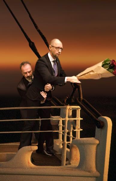 photoshop parlamento ucraniano titanic