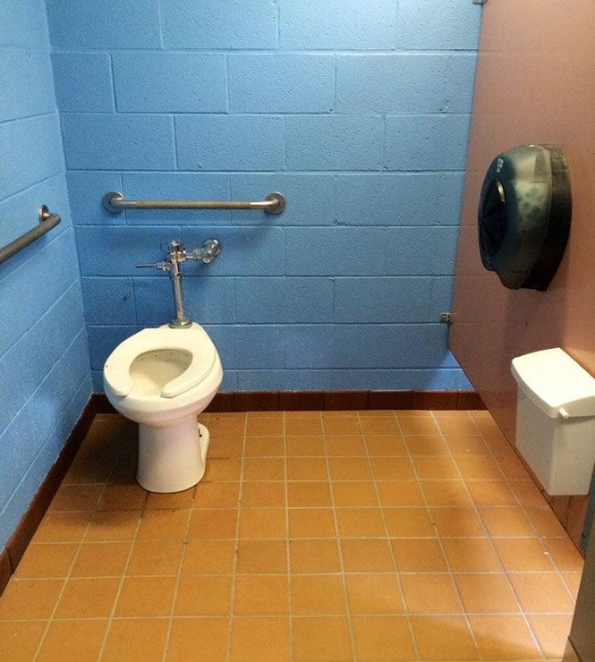 baño público fail