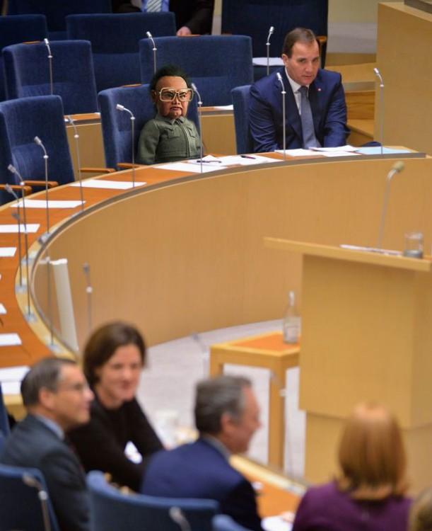 photoshop Primer Ministro de Suecia kim jong-il