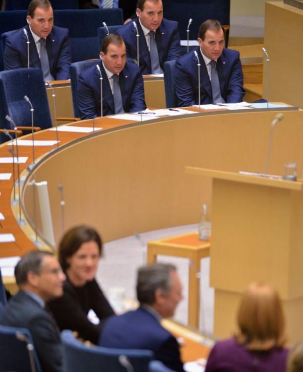 photoshop Primer Ministro de Suecia iguales