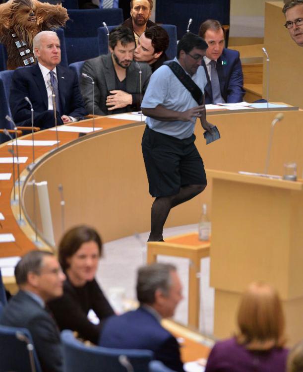 photoshop Primer Ministro de Suecia