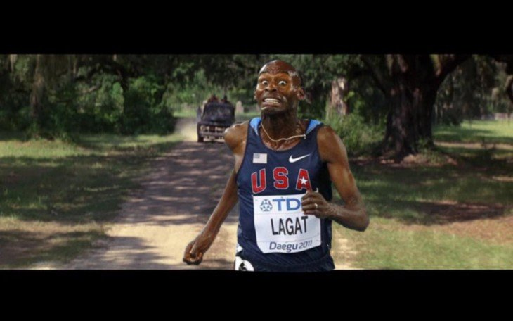 photoshop carrera forrest gump