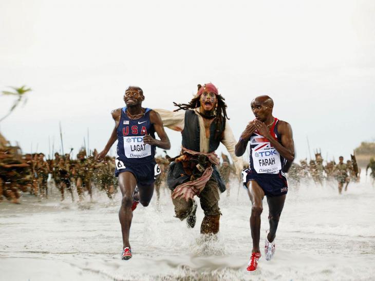 photoshop carrera piratas del caribe