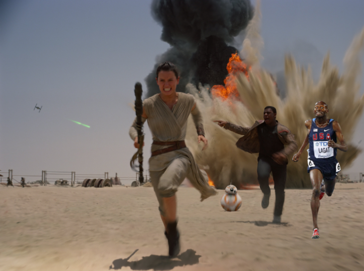 photoshop carrera star wars