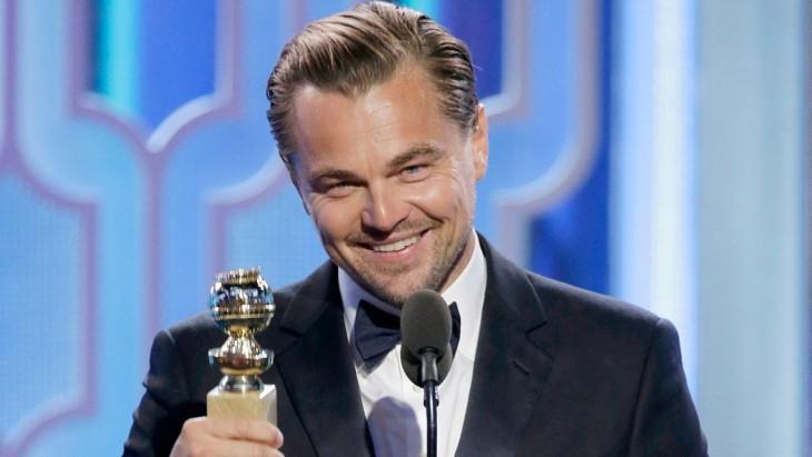 discuros de Leonardo DiCaprio en los Globo de Oro