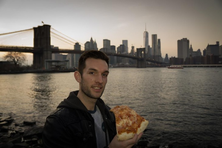 Phil Duncan, amante de la pizza