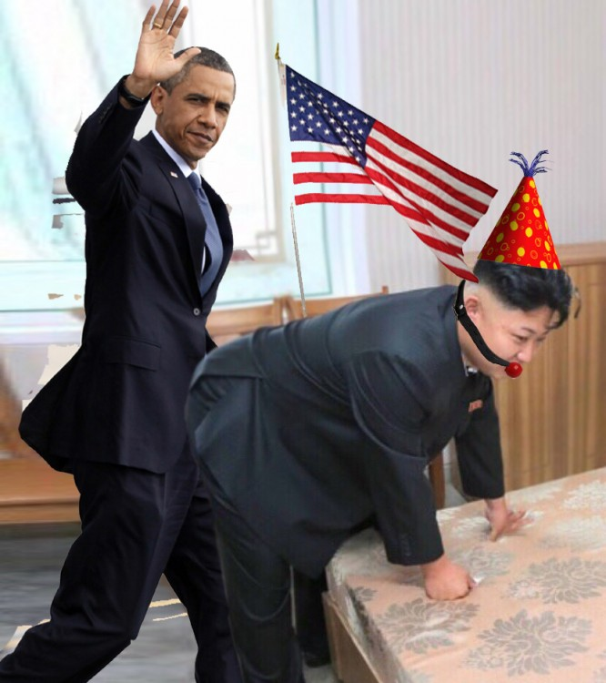 obama Photoshop Kim Jong