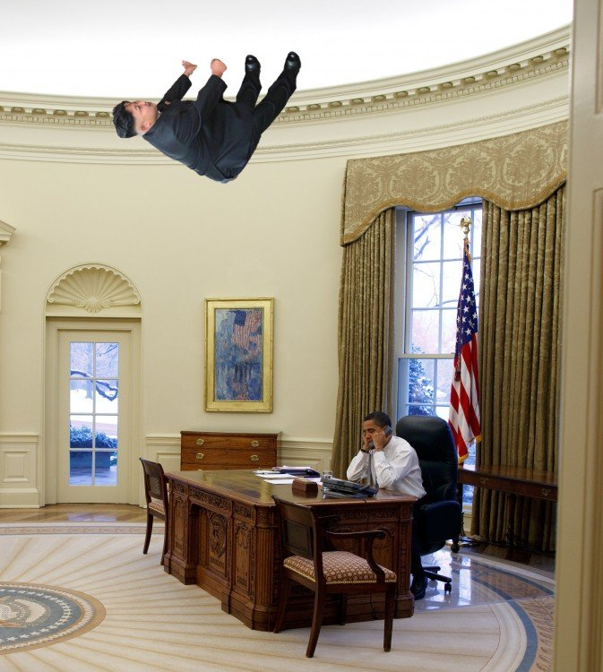obama, Photoshop Kim Jong