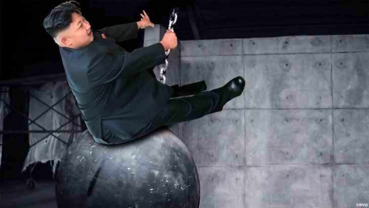 miley cyrus, Photoshop Kim Jong