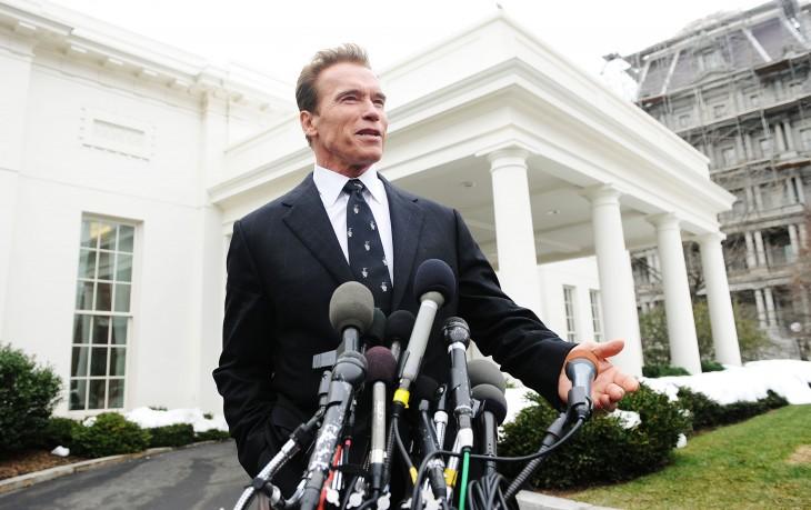 Arnold Schwarzenegger gobernador