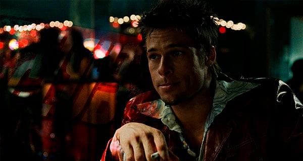 Brad Pitt fumando Club de la Pelea