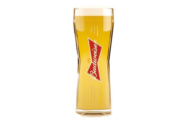 Vaso cervecero de Budweiser