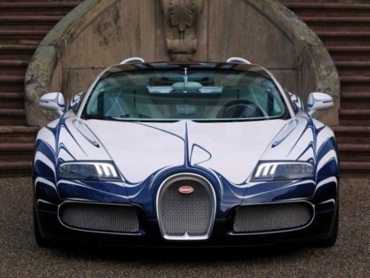 El Bugatti Chiron en vista previa