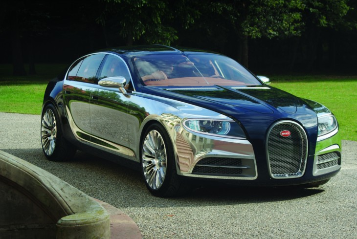 El Bugatti Chiron antes de su lanzamiento oficial